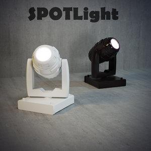 technical light 3d 3ds