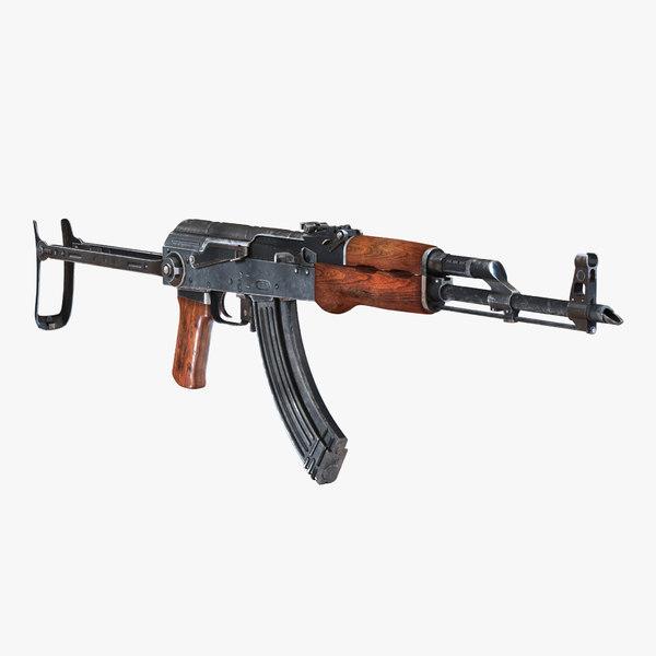 3ds assault rifle akms