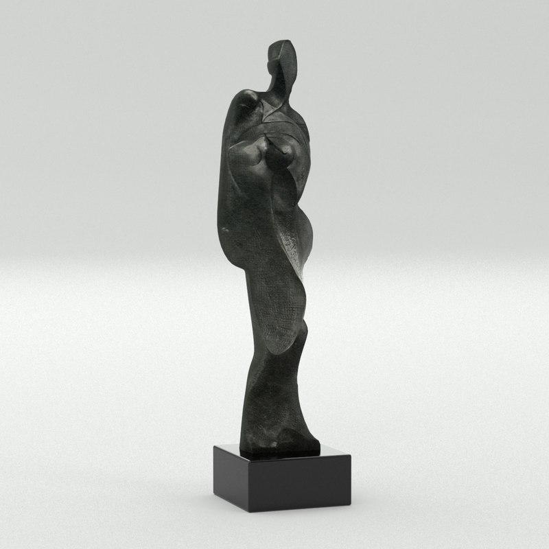3d model fiorini sculpture