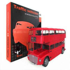 3d traffic vehicle