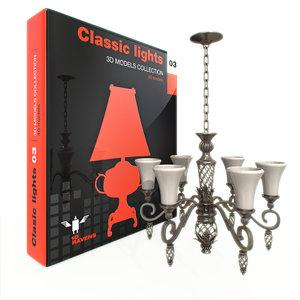 classic light 3d model