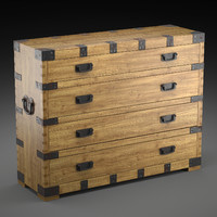 max chest vintage antique oak