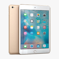 apple ipad mini 4 3d 3ds