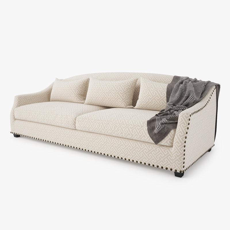 3d eichholtz langford sofa model