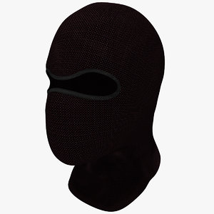3d mask hood