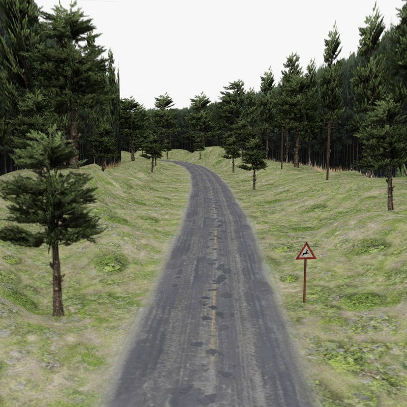 road forest games 3d 3ds
