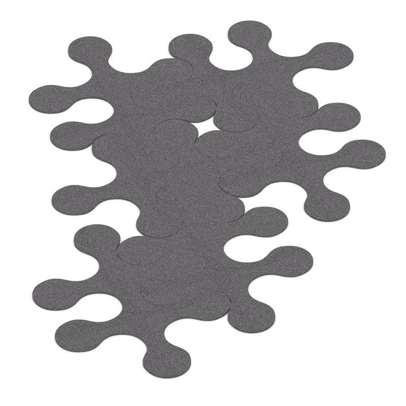 3ds max la corbeille molecules rug