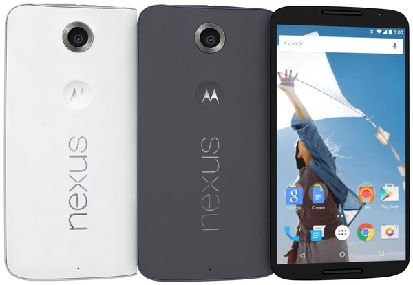 max motorola nexus 6 color