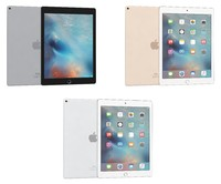 3d apple ipad pro colours model