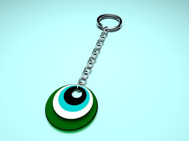 trinket keys 3d model