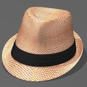 max fedora straw beach hat