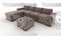 3ds max sofa puff donatella -