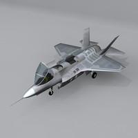 free aircraft x-35 3d model