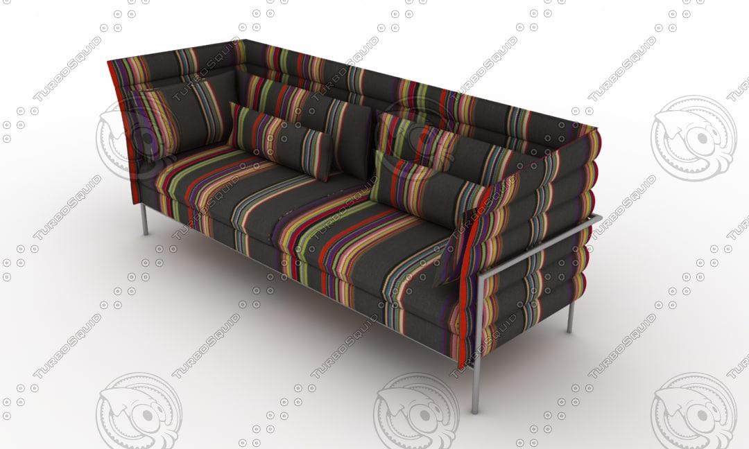 Vitra Alcove Sofa 3d Max