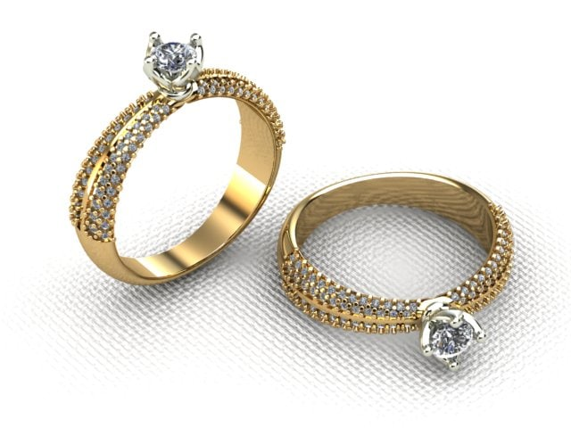 3ds engagement ring