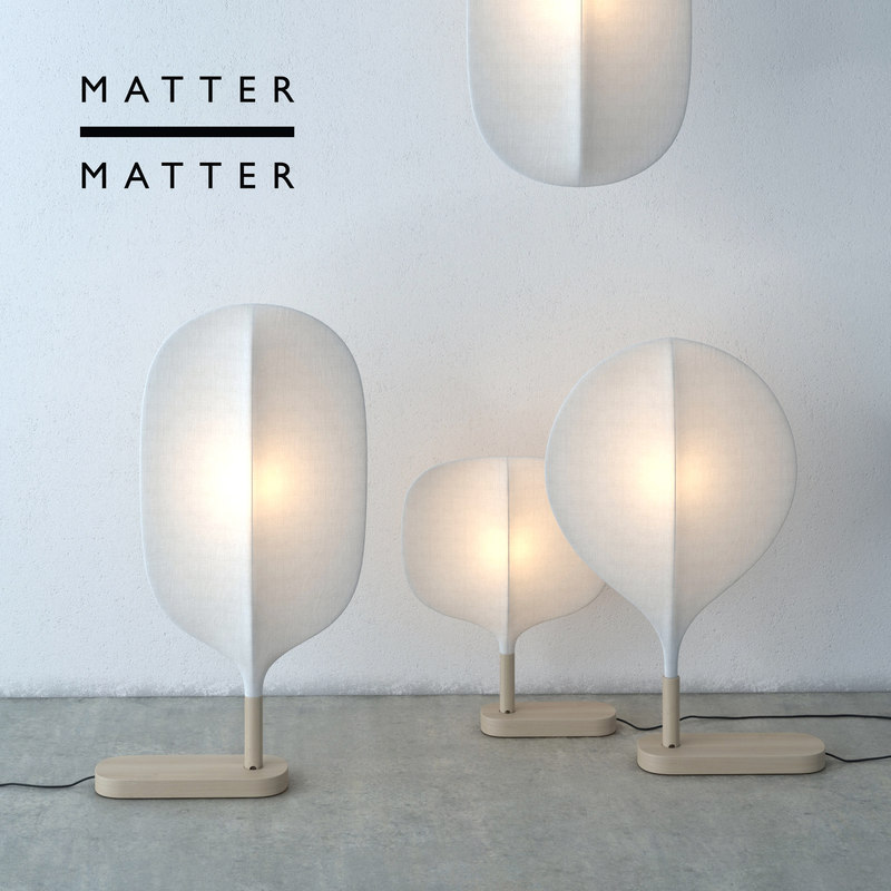 max modern matter lamp chimney
