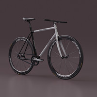 Fixed Gear Bicycle - Urban Cycling