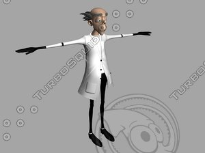 3d scientist model