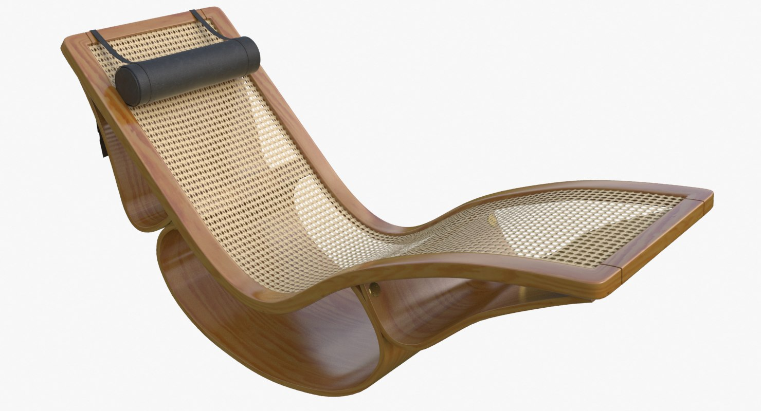 3d rio chaise longue teak : rio chaise lounge - Sectionals, Sofas & Couches