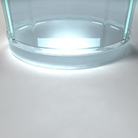 beverage glass 3d model