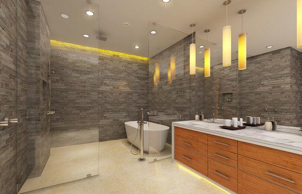 max realistic bathroom bath tub