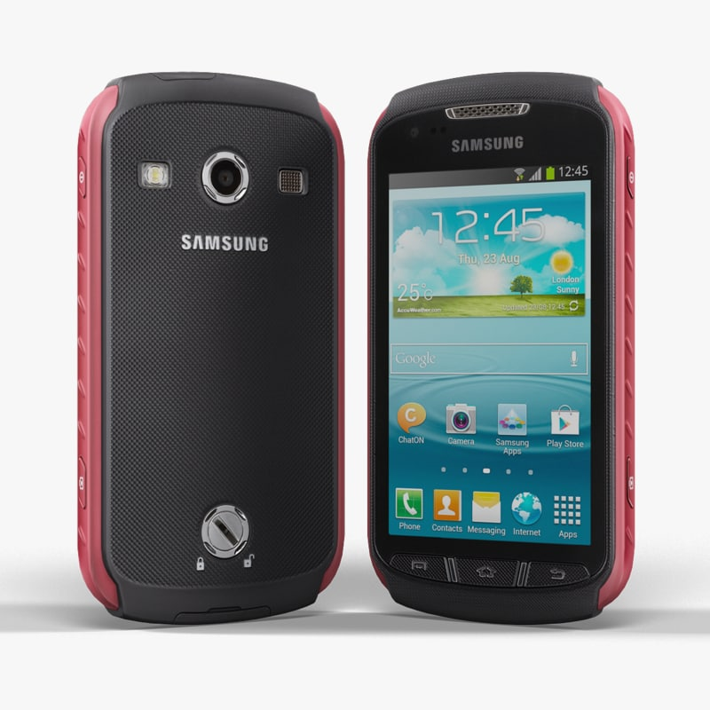 3d model samsung s7710 galaxy xcover