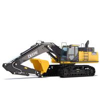 3d excavator john deere 470g model