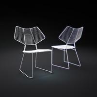 3d alieno-lounge-chair model