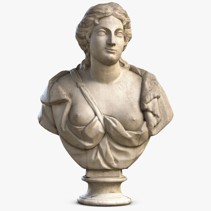 woman bust max