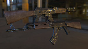 m70 rifle zastava 3d max