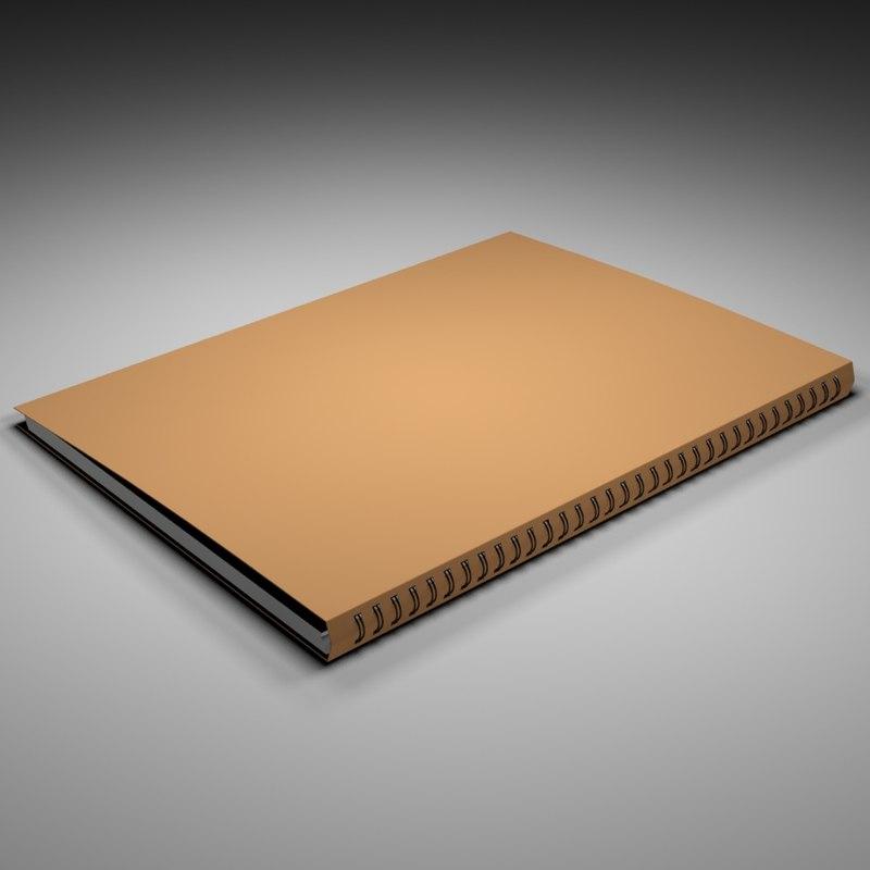 a4 notebook dwg