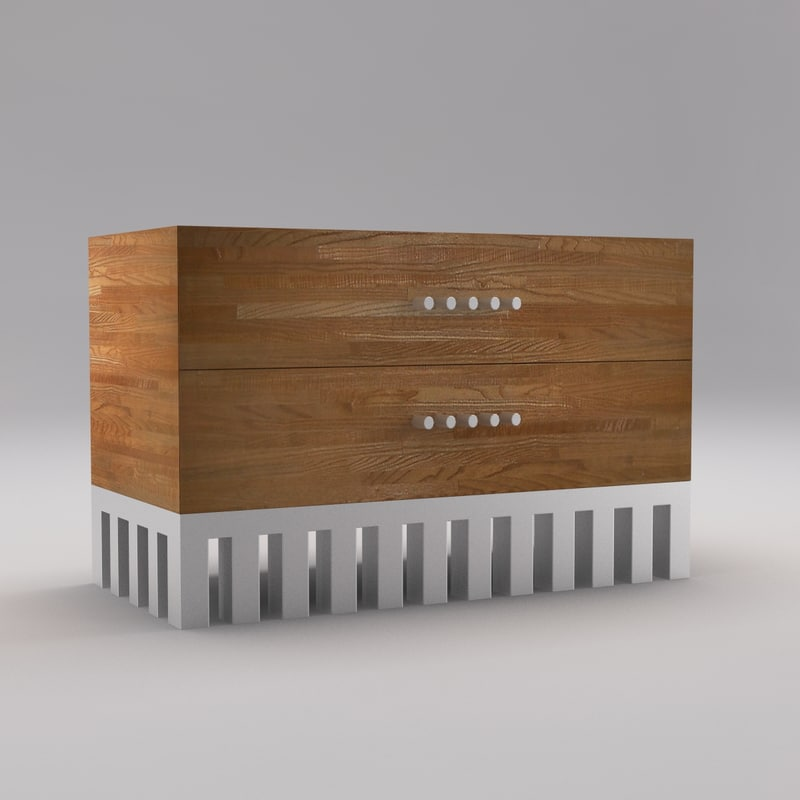 palmer commode 3d max