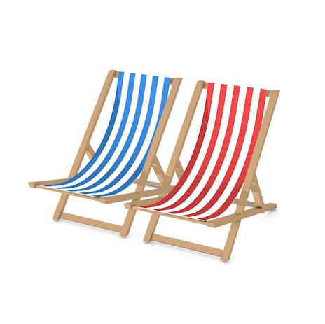 beach chairs c4d free