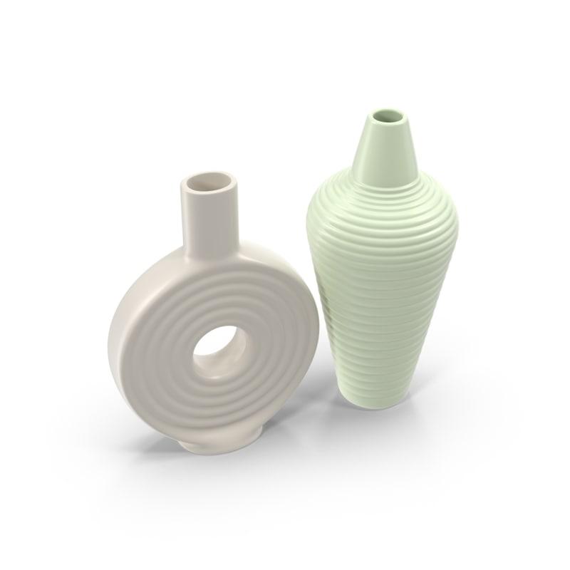 motive vases 3d model