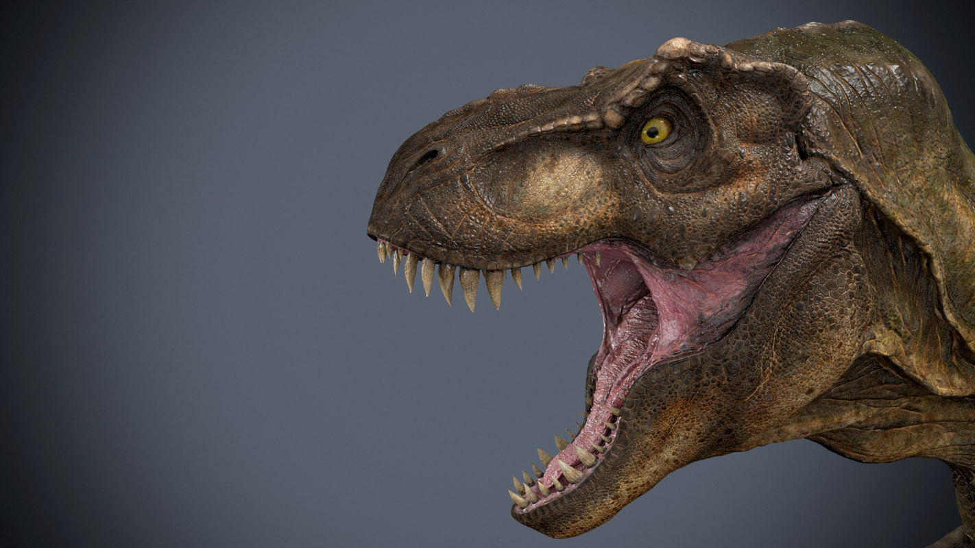 tyrannosaurus 3d obj
