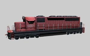 diesel engine cn 3d c4d