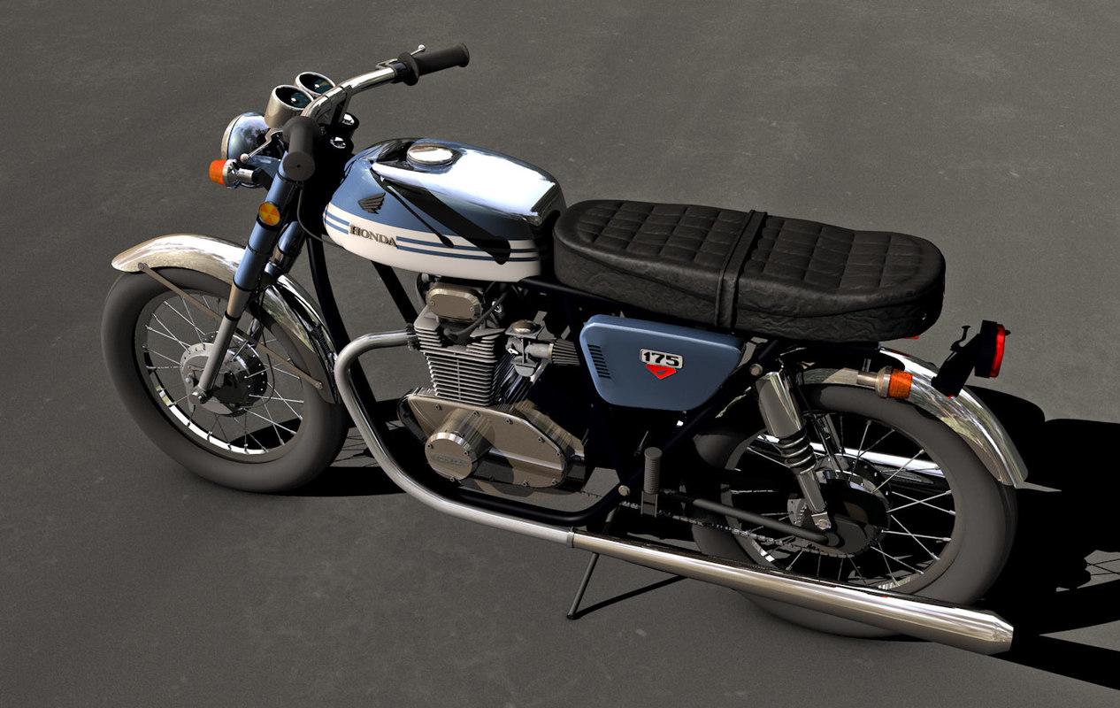 Honda Cb175 Dxf