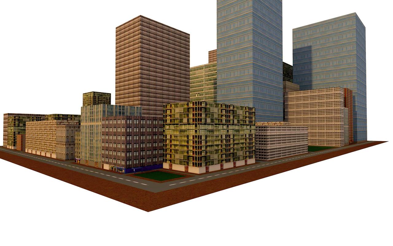 3d model city games