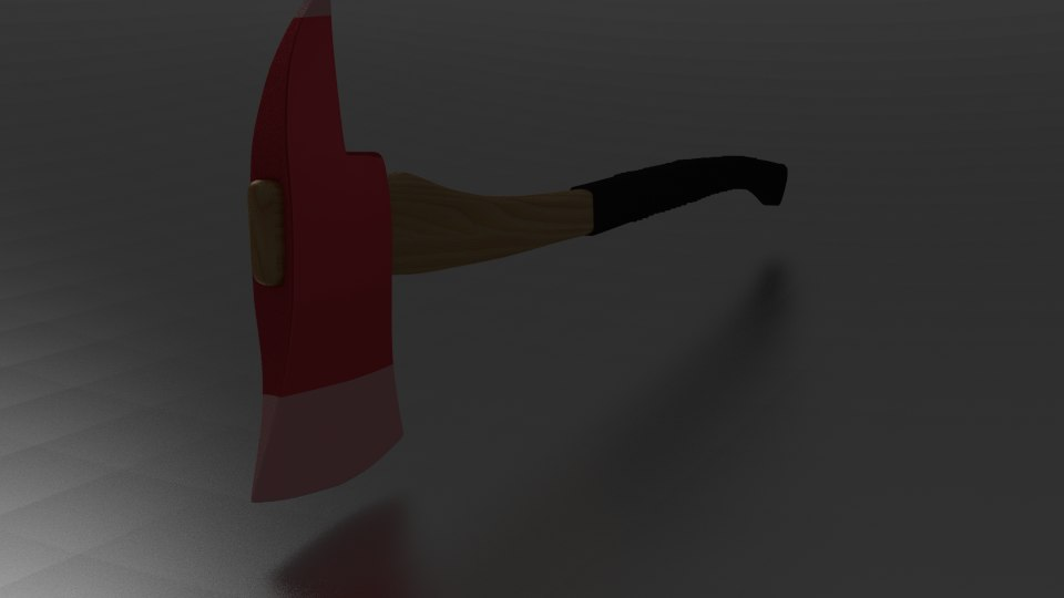 axe blender 3d 3ds