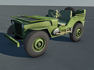 willy jeep 3ds