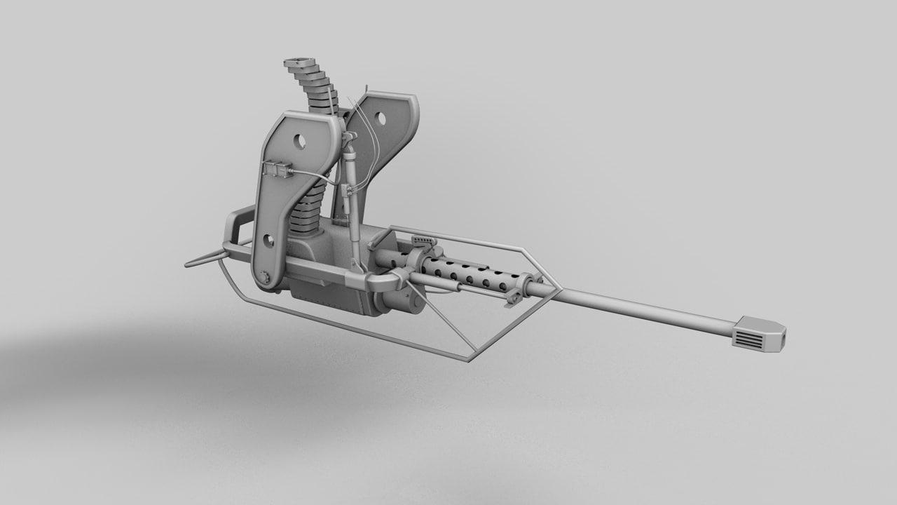 3d apache rotor head