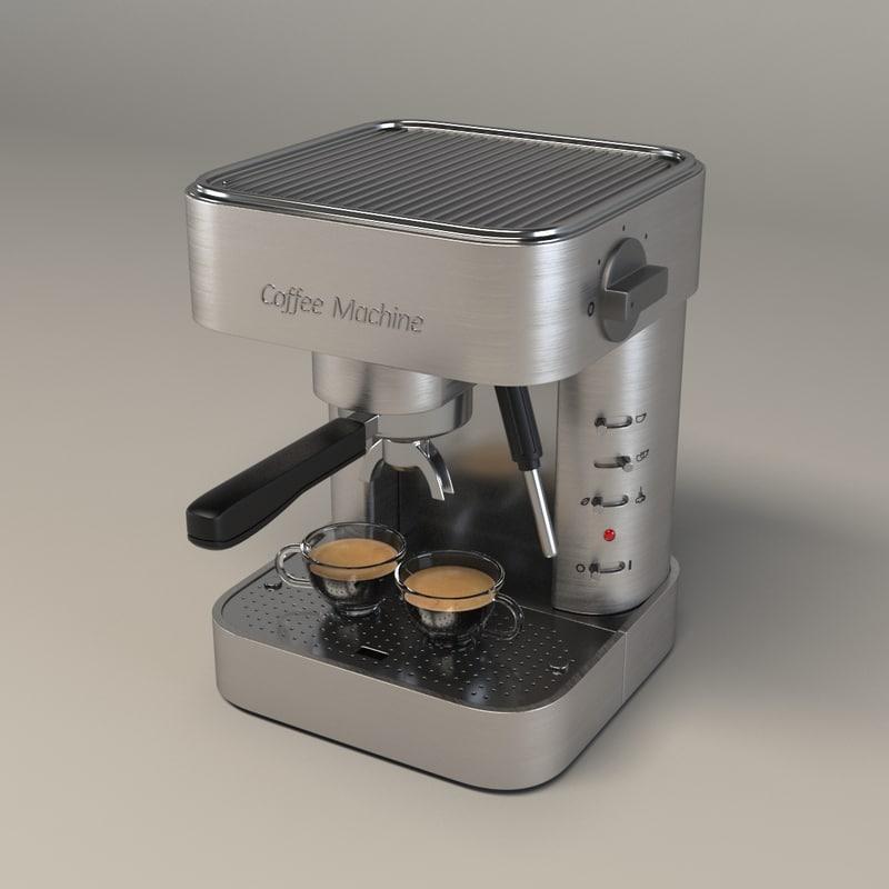 3d coffee maker