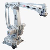 abb irb 460 industrial robot 3d max