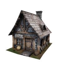 Medieval Building 08 Cottage