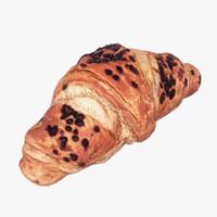 croissant scan 3d max