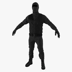 3ds max swat uniform 5