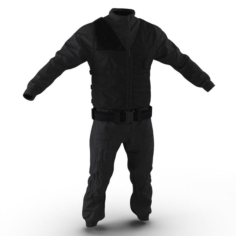 3d swat uniform 7