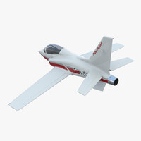 Sport Aircraft ViperJet 2 Rigged 3D Model