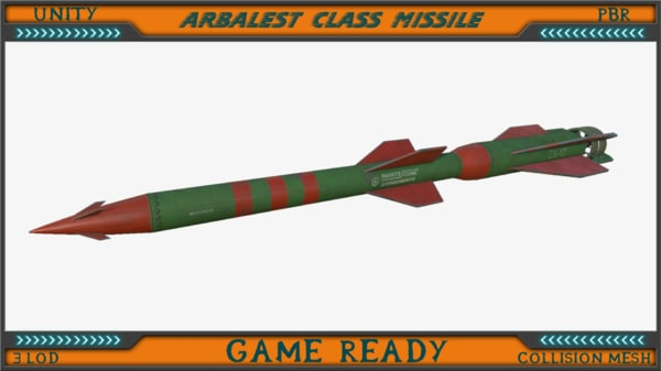 arbalest class missile max