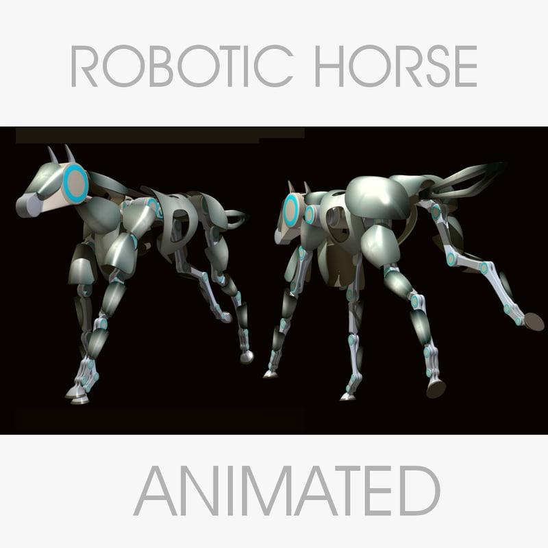 3d robotic horse